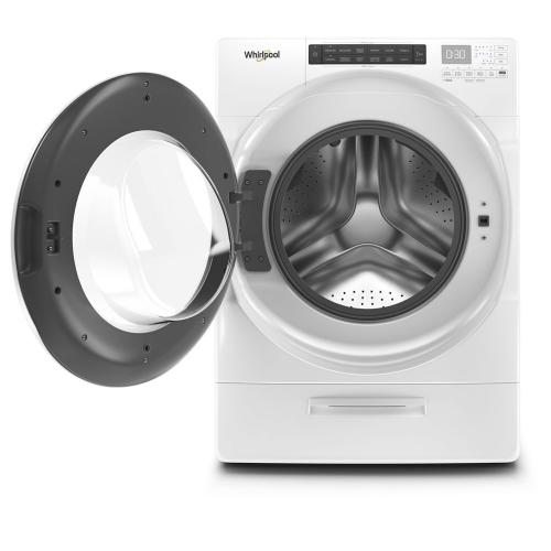 Gallery - 5.2 cu. ft. I.E.C. Closet-Depth Front Load Washer with Load & Go™ Dispenser