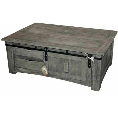Million Dollar Rustic - Charcoal Grey Barn Door Cocktail