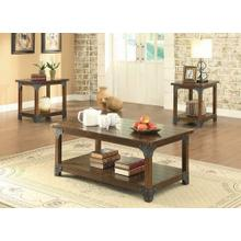 Craftsman Brown Three-piece Set