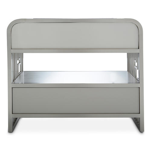 Metal Accent Cabinet-night Stand-end Table