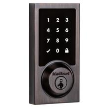 See Details - 916 Smartcode Contemporary Electronic Deadbolt with Z-Wave Technology - Venetian Bronze