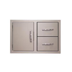 Alfresco - Flush-mount Combo Door and Drawer Unit
