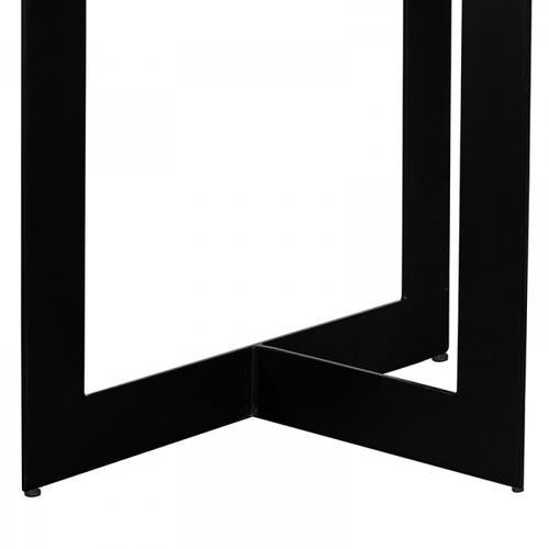 VIG Furniture - Modrest Sharon Modern Concrete & Black Metal Dining Table