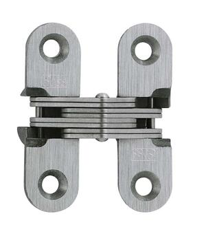 Model 203SS Stainless Steel Invisible Hinge Satin Stainless Steel Product Image