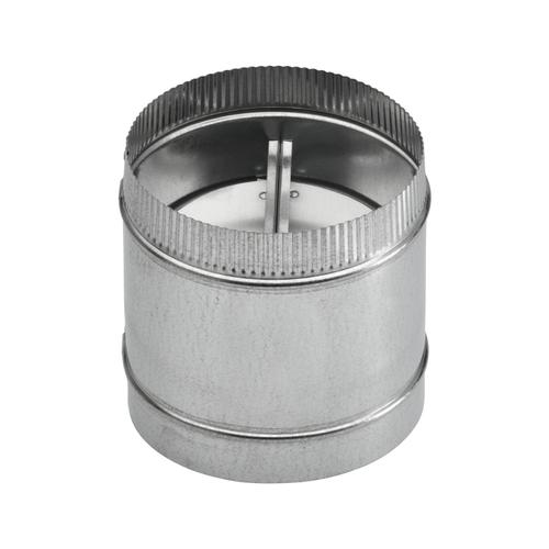 7-Inch Round Damper for Range Hoods and Ventilation Fans
