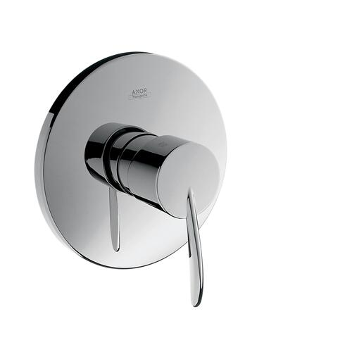 Brushed Gold Optic Single lever shower mixer for concealed installation