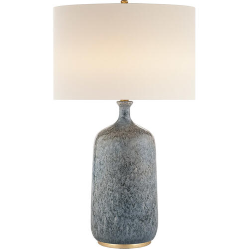 AERIN Culloden 33 inch 150 watt Blue Lagoon Table Lamp Portable Light