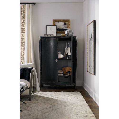Bedroom Sanctuary Armoire En Noir