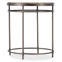 Living Room St. Armand Round End Table