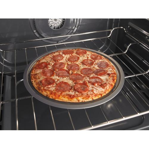 5.8 Cu. Ft. Front Control Gas Range with EZ-2-Lift hinged grates