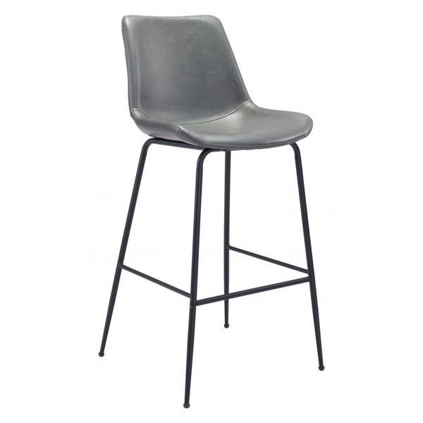 Byron Bar Chair Gray