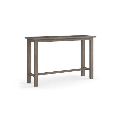 Bassett Furniture - Aluminum Farm Tables Console Table
