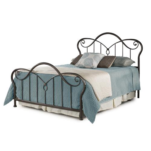 Casselton Queen Bed, Black Pewter