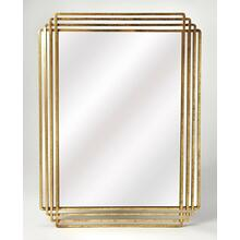 Antiqued and classic, brings elegance where ever its hung. Place this Antiqued Gold rectangle mirror over a console table in your entryway or hall to enlighten or expand the space. Hang over the mantle to bring bright sohpistication to your living area. T