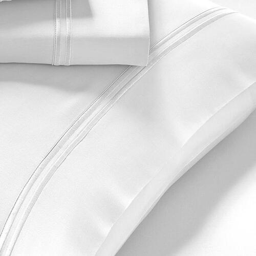 Pure Care - Refreshing Tencel Pillowcase Set - White / Queen