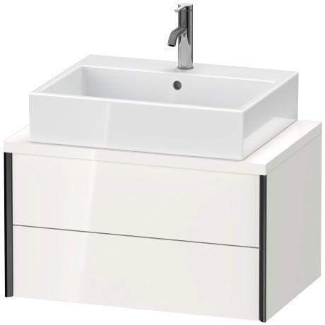 Vanity Unit For Console Compact, White High Gloss (decor)
