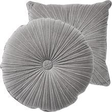 See Details - Van Dyke Round Pillow-Grey