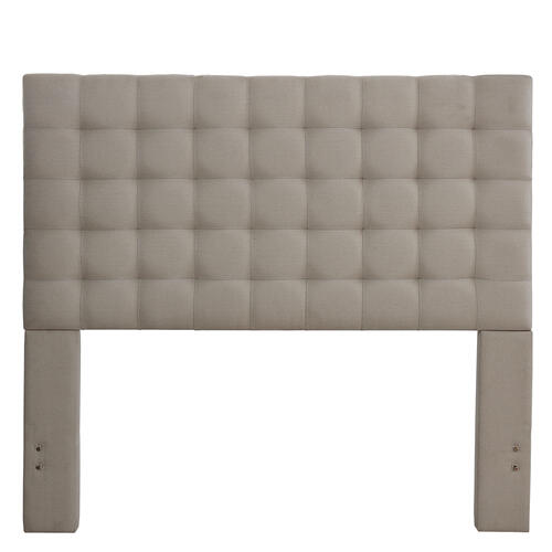 Bergen King / Cal King Headboard Only - Dove Gray