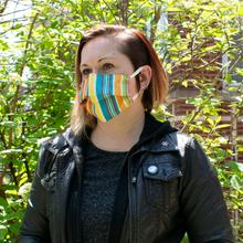 Reusable Face Mask in Tracon Stripe