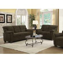 See Details - Clemintine Brown Two-piece Living Room Set