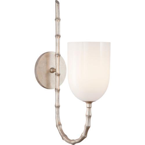 Visual Comfort - AERIN Edgemere 1 Light 5 inch Burnished Silver Leaf Wall Light