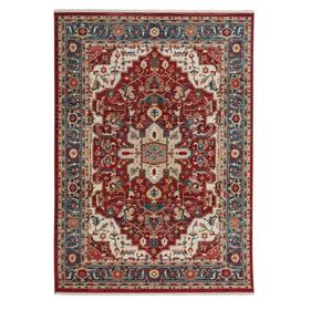 """Alden-Medallion Classic Red - Rectangle - 3'3"""" x 4'10"""""""