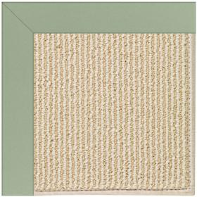 Creative Concepts-Beach Sisal Canvas Celadon Machine Tufted Rugs