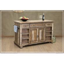 3 Drawer & 4 Doors Kitchen Island