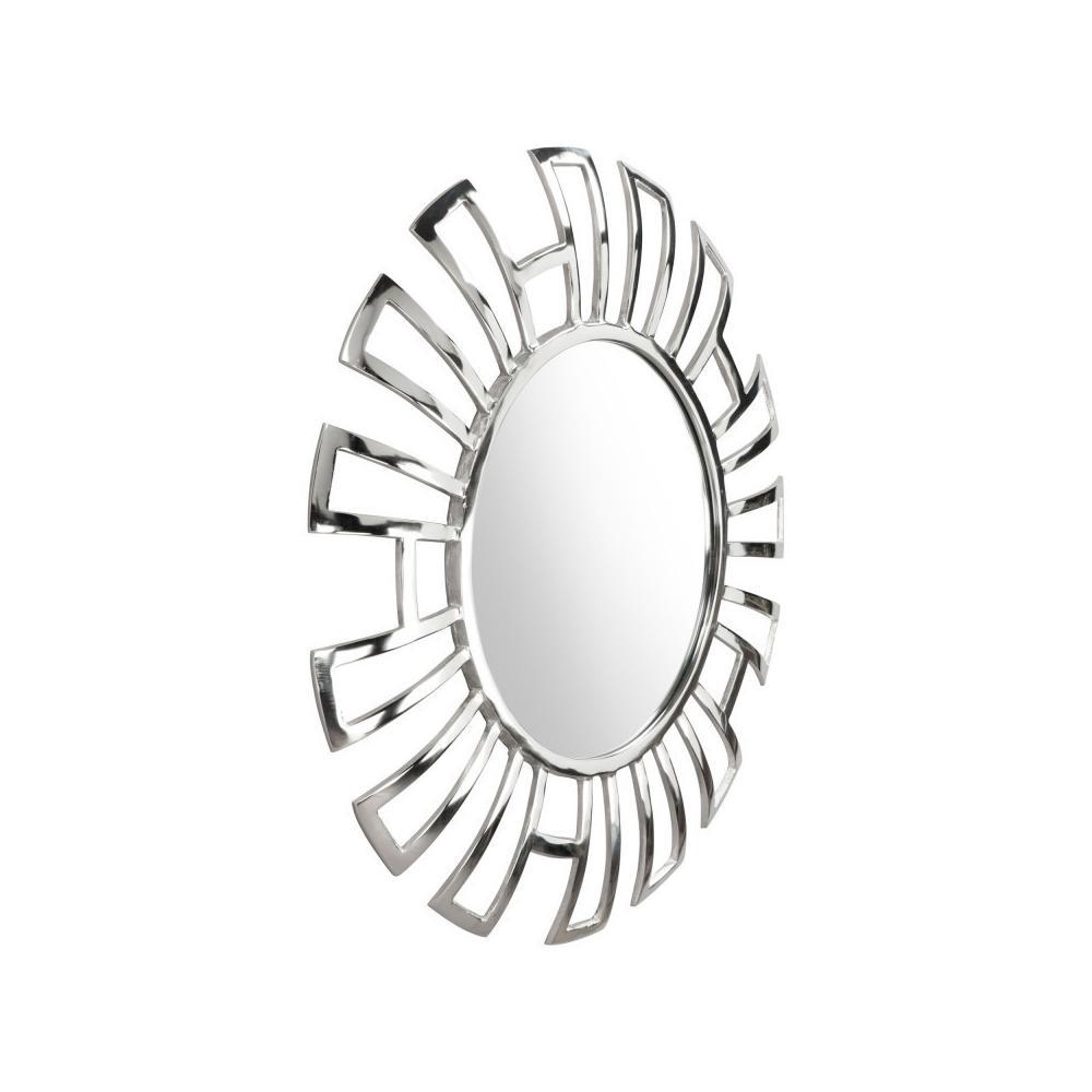 See Details - Calmar Round Mirror Aluminum