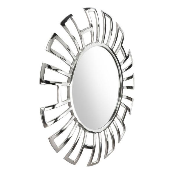 Calmar Round Mirror Aluminum