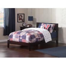 Orlando Twin Bed in Espresso