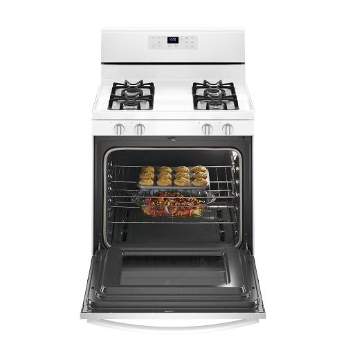 Whirlpool Canada - 5.0 cu. ft. Freestanding Gas Range with Adjustable Self-Cleaning
