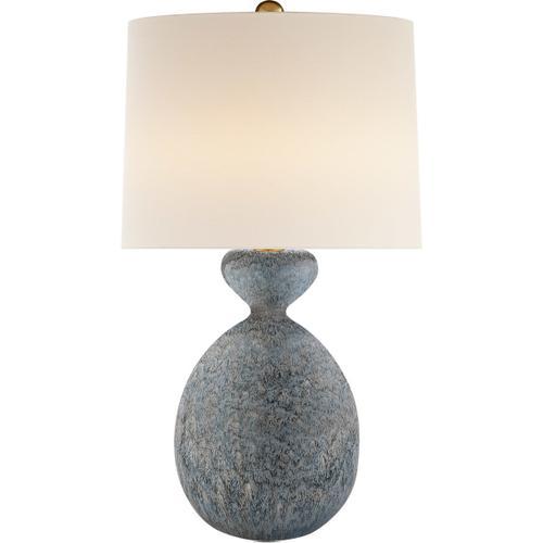 AERIN Gannet 29 inch 150 watt Blue Lagoon Table Lamp Portable Light