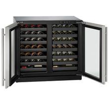 "36"" Dual-zone Wine Refrigerator With Stainless Frame Finish (115 V/60 Hz Volts /60 Hz Hz)"
