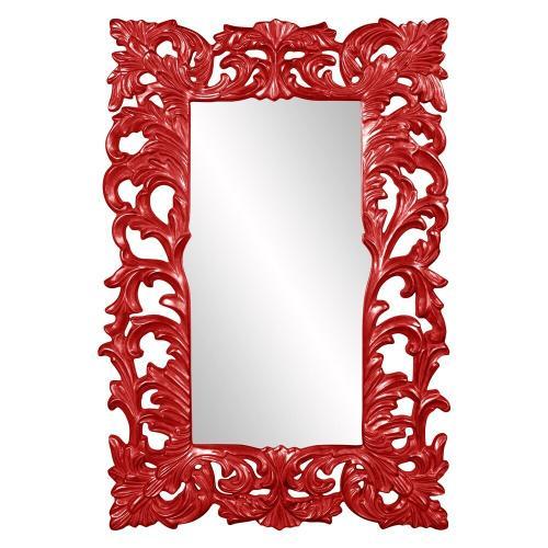 Howard Elliott - Augustus Mirror - Glossy Red