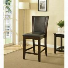 ACME Malik Counter Height Chair (Set-2) - 70514 - Espresso PU & Espresso