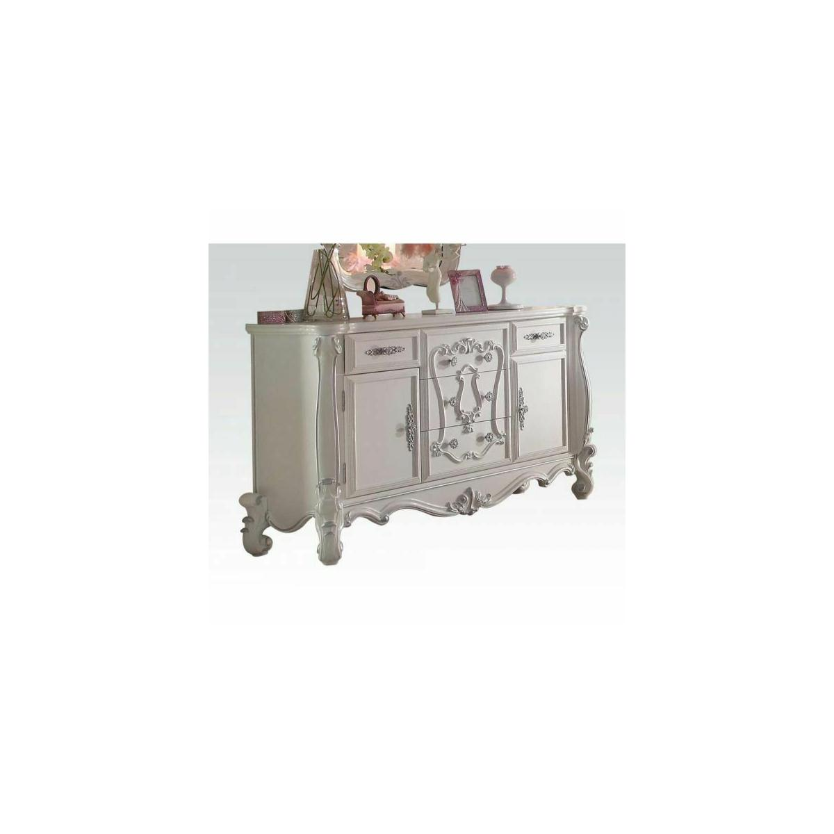 ACME Versailles Dresser - 30655 - Antique White
