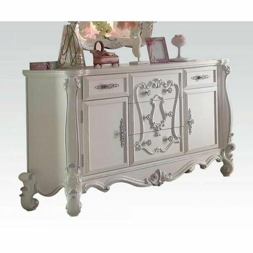 ACME Versailles Dresser - 30655 - Antique White