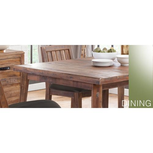 Havana Counter Height Table w/ Solid Top,