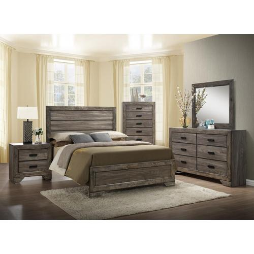 NH100 Nathan Queen BED COMPLETE (HB, FB, Rails & Slats)