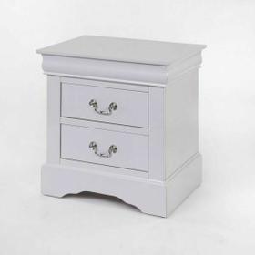 ACME Louis Philippe III Nightstand - 24503 - White