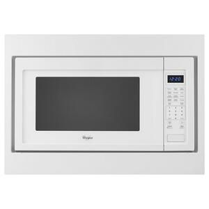 "Whirlpool27"" Trim Kit for Countertop Microwaves"