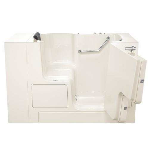 Premium Series 32x52-inch Air Massage Walk-In Tub  Outswing Door  American Standard - Linen