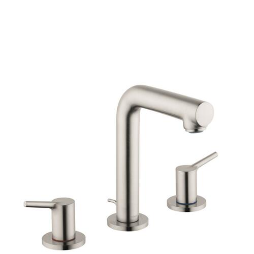 Brushed Nickel Widespread Faucet 150 with Pop-Up Drain, 1.2 GPM