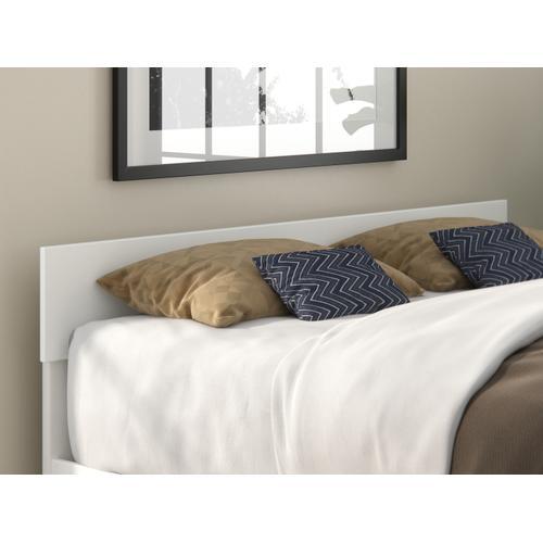 Atlantic Furniture - Boston Queen Headboard in White