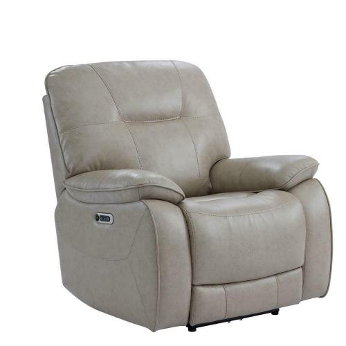 AXEL - PARCHMENT Power Recliner