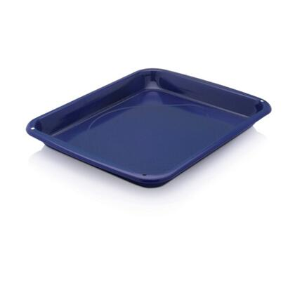 See Details - Broiler Pan - Cobalt Blue