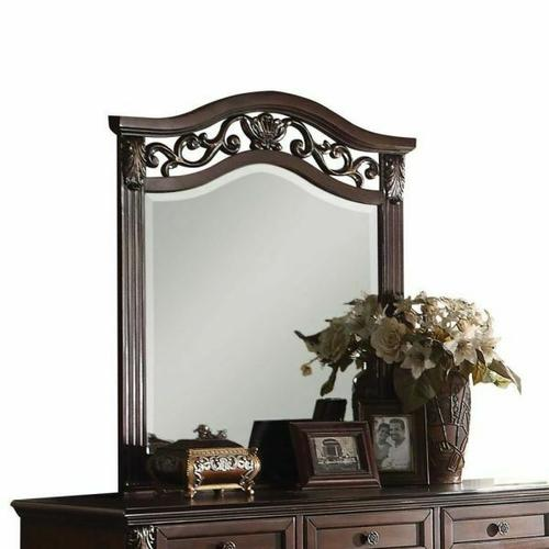 ACME Manfred Mirror - 22774 - Dark Walnut