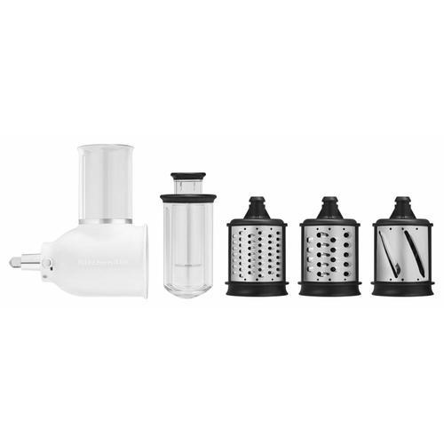 KitchenAid - Exclusive Artisan® Series Stand Mixer & Fresh Prep Attachment Set - Black Matte