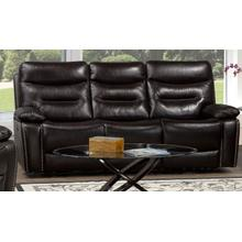 See Details - Power Recliner Sofa - Chocolate